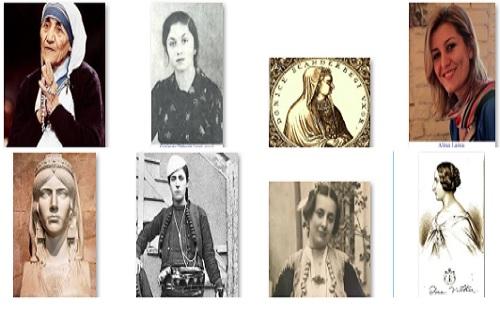 Femra shqiptare, të cilat, kanë afirmuar kombin tonë