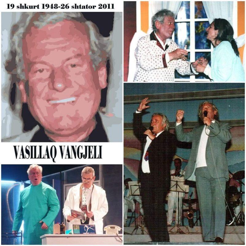 Vasillaq Vangjeli, mjeku që zgjodhi të bëhej aktor komik